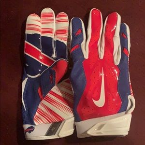 Nike vapor jet 3.0 football gloves Bills
